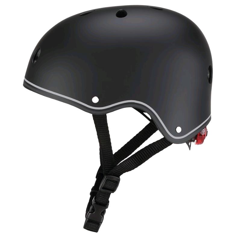 GLOBBER - Helmet Primo Lights (48-53 cm) - Black (505-120)