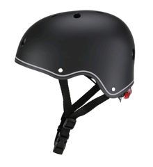 GLOBBER - Helmet Primo Lights (48-53 cm) - Black (505-120)