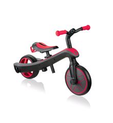 GLOBBER - Trike Explorer 2-i-1 Løbecykel - Rød