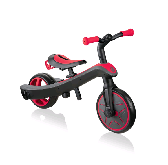 GLOBBER - Trike Explorer 2-in-1 - Red (630-102)