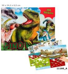 Create Your - Dino Stickerworld Klistermærkebog