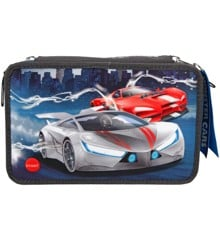 Monster Cars - Tripple Pencil Case w/LED (411067)