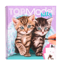 Top Model - Colouring Book - Kitty (411133)