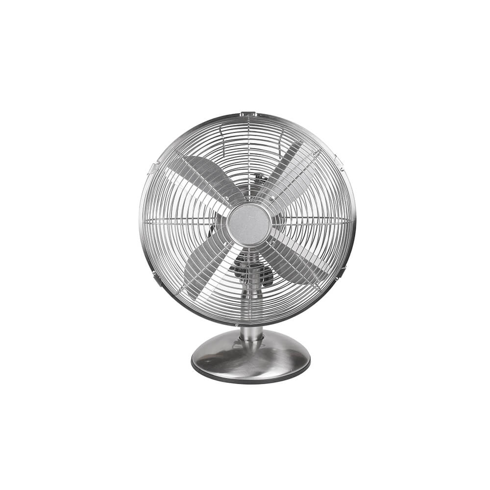 NORTH - Table Fan 30cm Satin Chrome