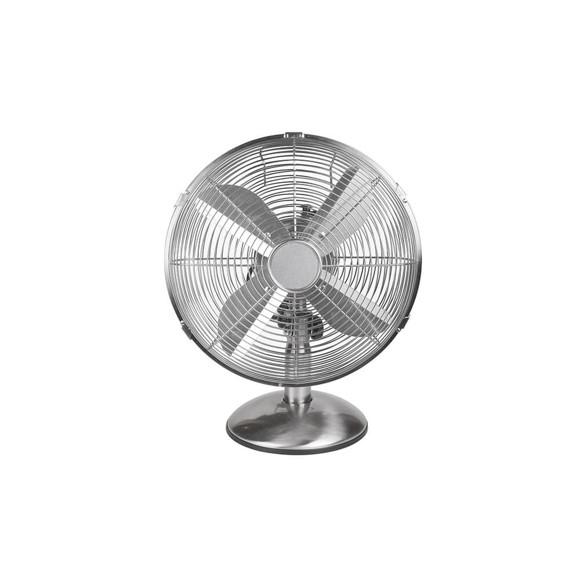 NORTH - Table Fan 30cm Satin Chrome