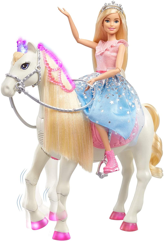 Barbie - Princess Adventure - Modern Princess Prance & Shimmer Horse (GML79)