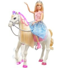 Barbie - Princess Adventure - Modern Princess Prance & Shimmer Horse (GML79)
