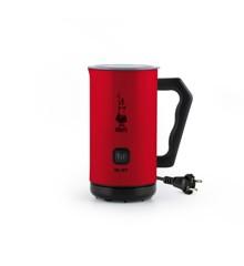 Bialetti - Soft Cream Elektrisk Mælkeskummer 150ml/300ml - Rød