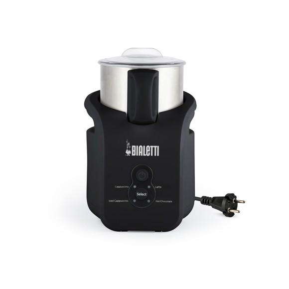 Bialetti - Creamy Induktion Mælkeskummer 150ml/300ml - Sort