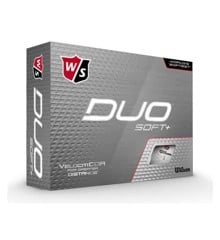 Wilson - Duo Soft+ White 12pack Golf Balls