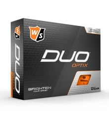 Wilson - Duo OPTIX Orange 12pack Golf Balls