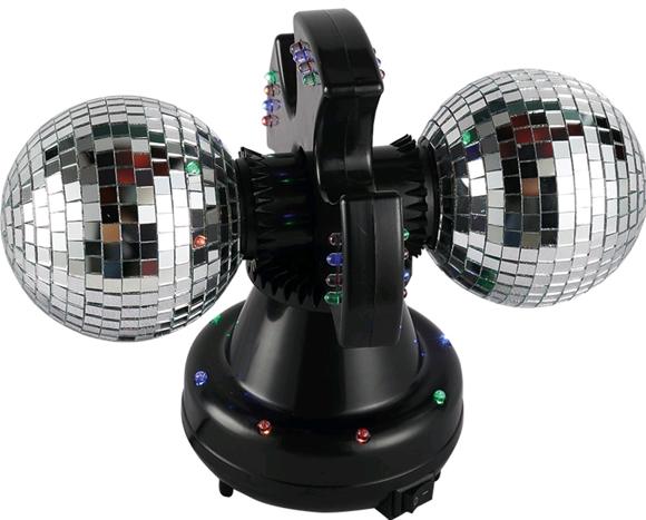 Twin Mirror Ball lamp LED (501114)