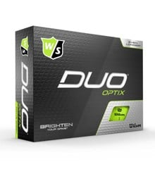 Wilson - Duo OPTIX Green 12pack Golf Balls