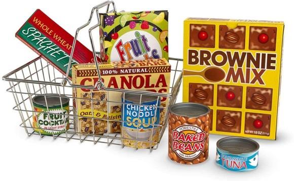 Melissa & Doug - Shopping Basket (15171)