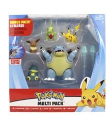 Pokemon - Battle Figure Multipack (5-Pack) asst (PKW0249)