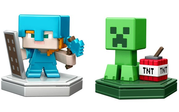 Minecraft - Boost Mini Figure 2-Pack - Villager & Companion (GKT43)