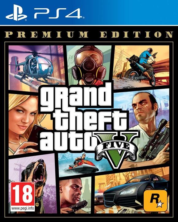 Grand Theft Auto V (GTA 5) Premium Online Edition (ES) (Multi)
