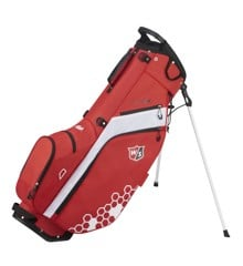 Wilson - W/S FEATHER Golf Bag BLBLGY RDWHWH