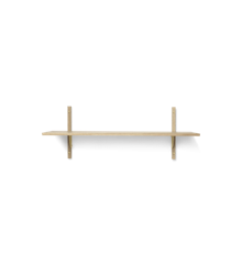Ferm Living - Sector Shelf L/S - Natural Oak/Brass (1103432852)