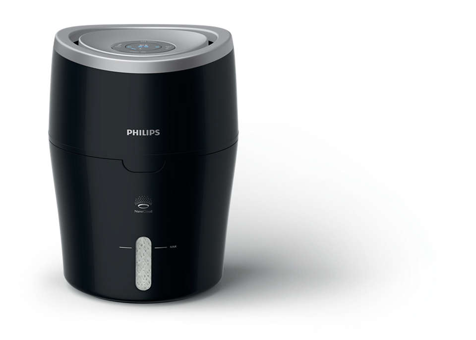 Philips - Series 2000 Humidifier With NanoCloud HU4813/10