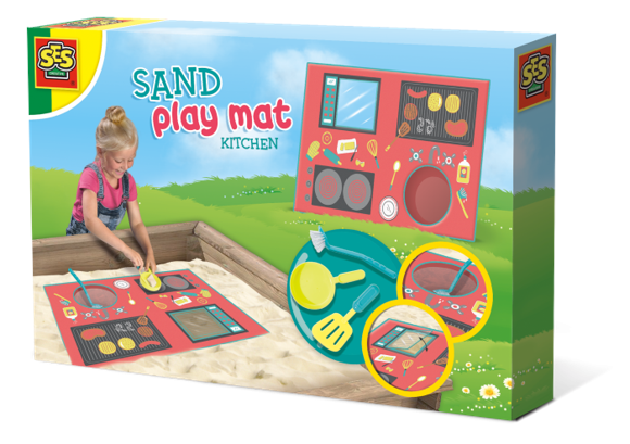 Ses Creative - Sand play mat - kitchen (S02216)