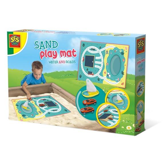 Ses Creative - Sand play mat - Roads (S02217)