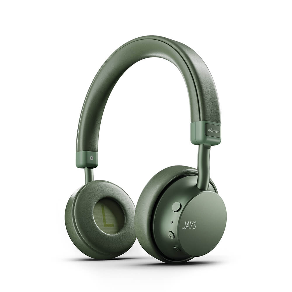 Jays - Headphone a-Seven Wireless On-Ear Headphones - Green