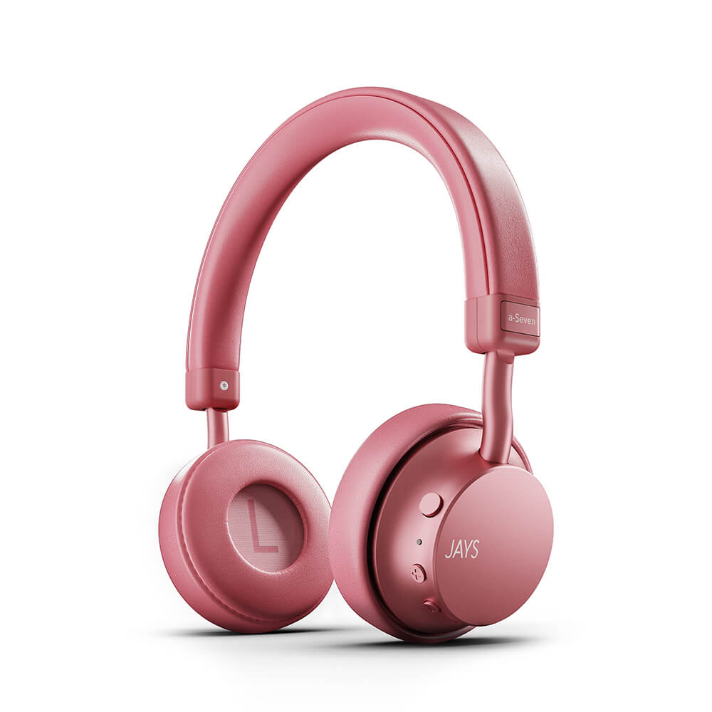 Jays - Headphone a-Seven Wireless On-Ear Headphones - Rose