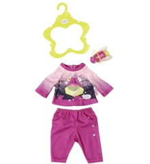 Baby Born - Play & Fun - Tøj med Lommelygte - Pink