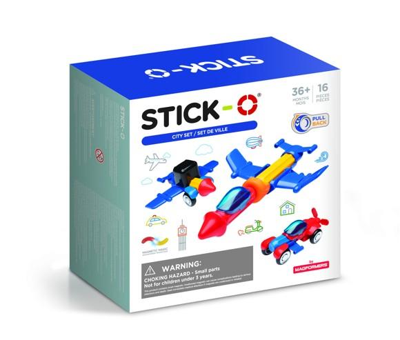 Stick-O - City Set 16-Piece (902003)
