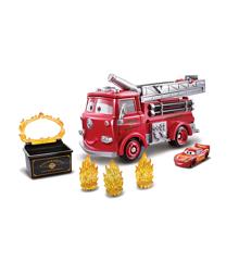 Disney Biler - Stunt & Splash - Røde (GPH80)