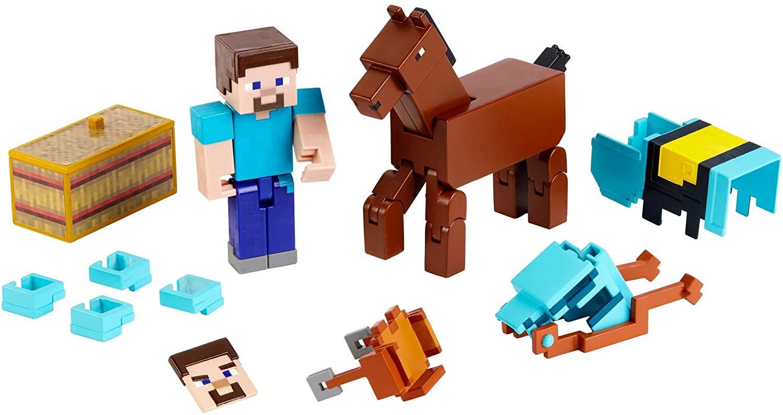 Buy Minecraft - Comic 11-Pack Figures - Steve + Diamond Armored