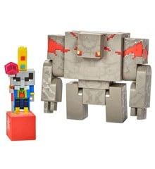 Minecraft - Dungeons Illiager & Golem Figur