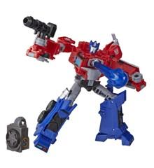 Transformers - Cyberverse Deluxe - Optimus Prime (E7096)