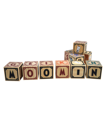 Moomins - Wooden Blocks (7274)