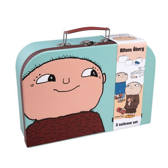 Alfons Åberg - 3 Suitcase Set (7840)