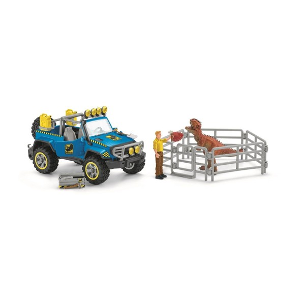 ​Schleich - Off-road vehicle with dino outpost​ (41464)​