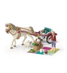 Schleich -  Karet til hesteshow (42467)