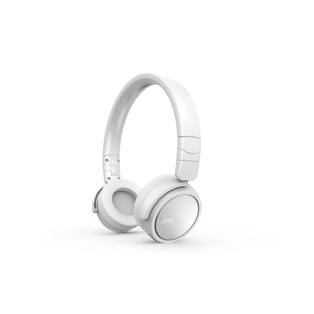 Jays - x-Five Wireless On-Ear Headphone - White