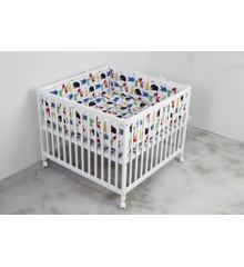 Babytrold - Kravlegårdstæppe 80 x 80 cm - Jungle