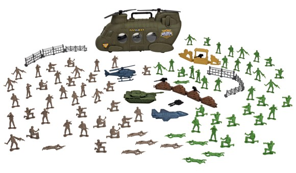 Soldier Force - Chinook Bucket 100pcs (545036)