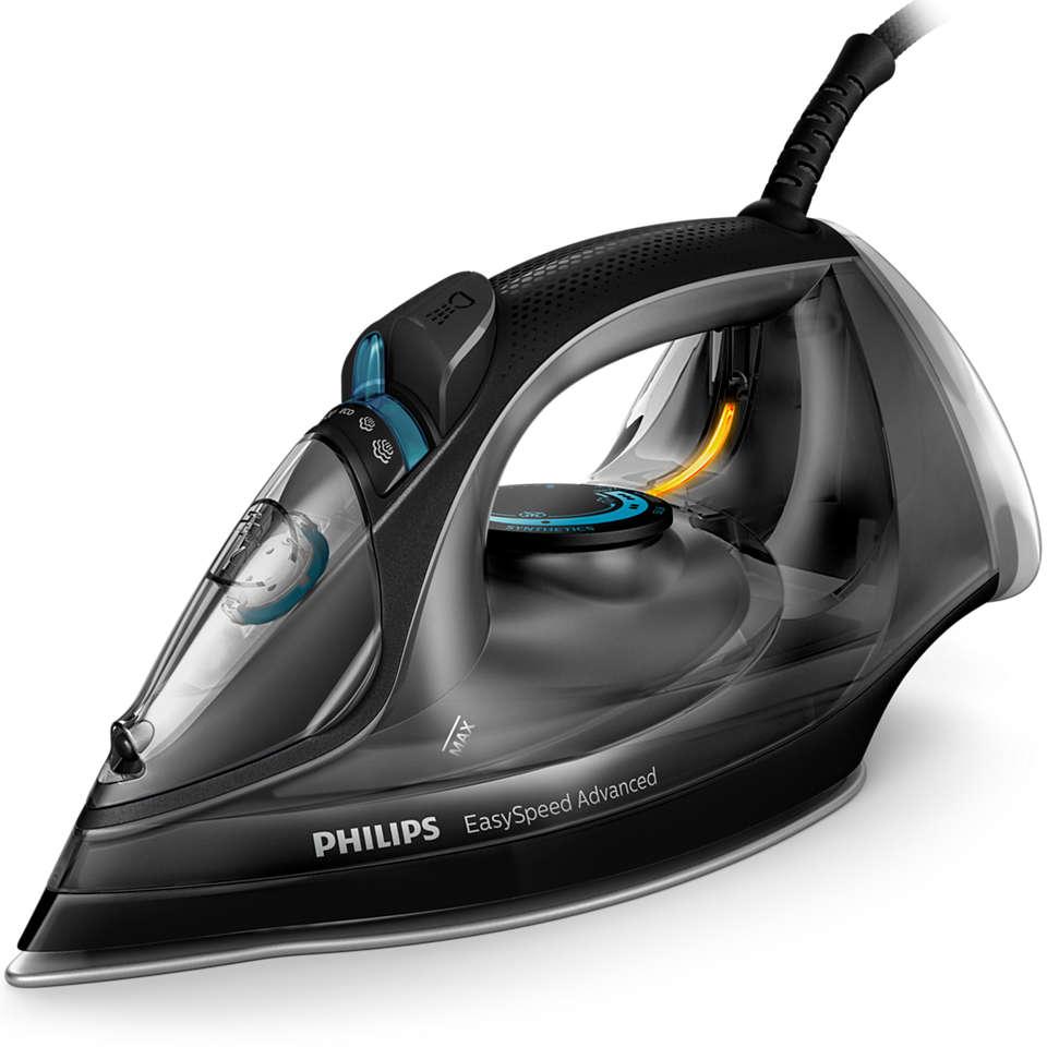 Philips - EasySpeed Advanced Steam Iron - GC2673/80