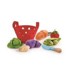 Hape - Filttaske med bløde grøntsager (3167)