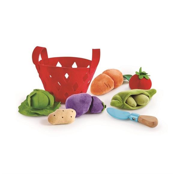 Hape - Toddler Vegetable Basket (3167)
