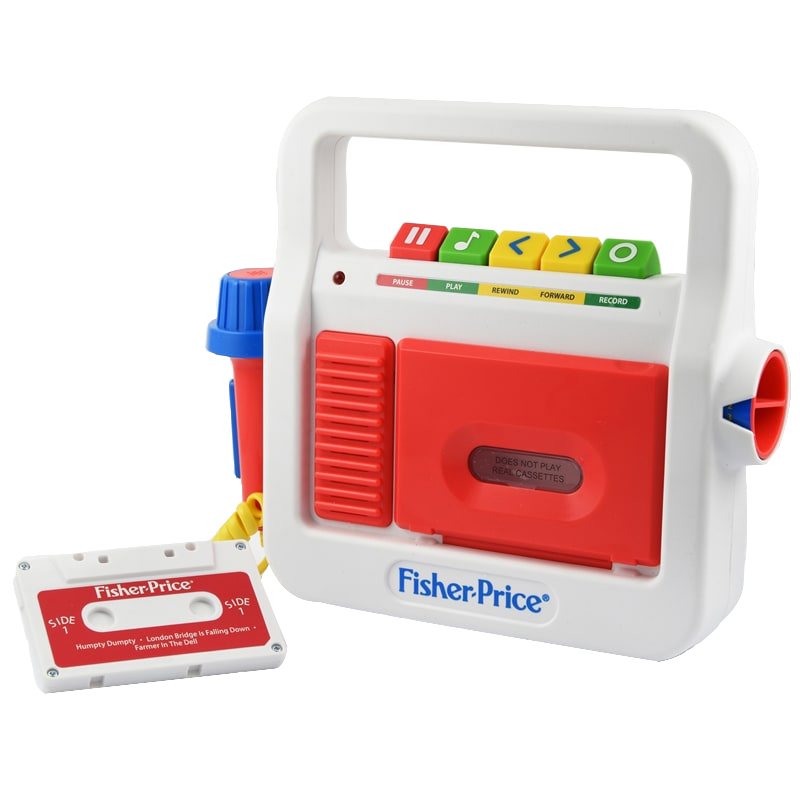 Fisher-Price - Play Tape Recorder(202178)
