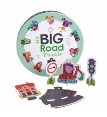 Barbo Toys - My big Road Puzzle (74 pcs) (5848)