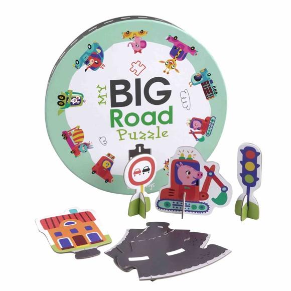 Barbo Toys - My big Road Puzzle (74 pcs) (5848)