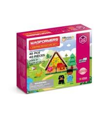 Magformers - Camping Adventure Sæt, 40 dele (3106)