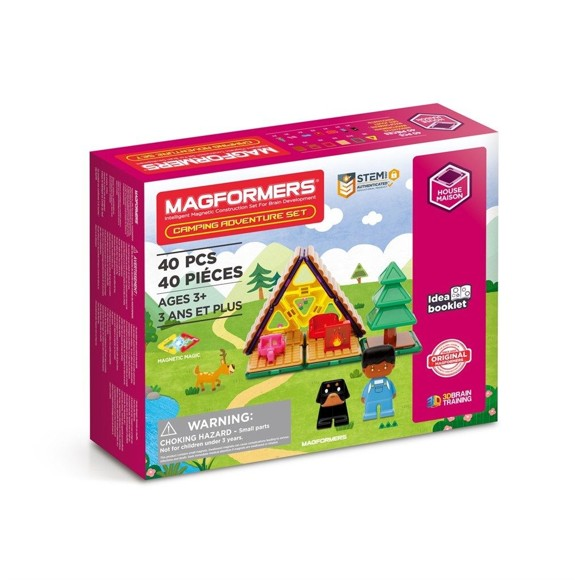 Magformers - Camping Adventure Set, 40 pcs (3106)