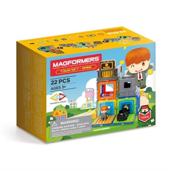 Magformers - Town set - Bank Set (3103)